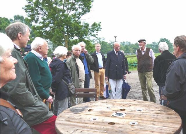 … sowie Führungen über den denkmalgeschützten Hof von Georg Eggers.