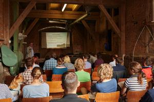 Interessante Vorträge informierten über den ökologischen Landbau.